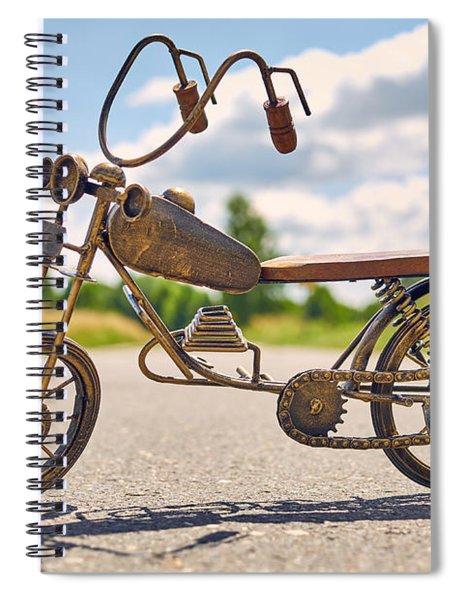 Scrawny Spiral Notebook