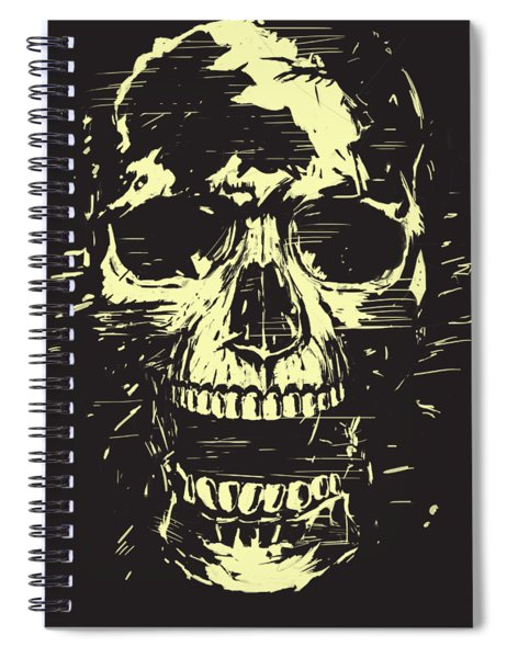 Scream Spiral Notebook