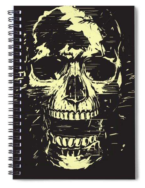 Scream Spiral Notebook