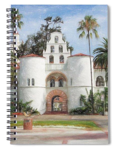 Sdsu Drawing Spiral Notebook