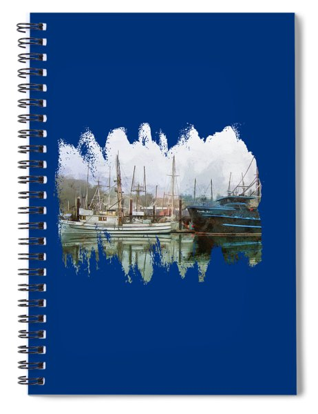 Sea Breeze And Lady Law Spiral Notebook