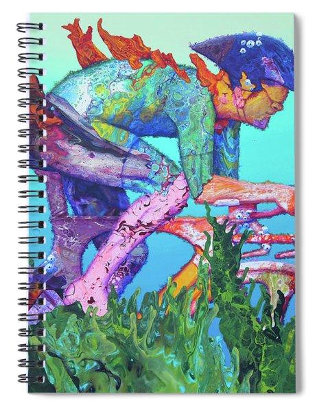 Sea Cycler Spiral Notebook
