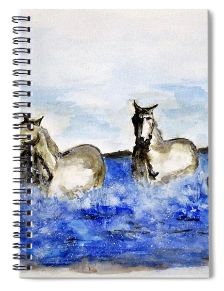 Sea Horses Spiral Notebook