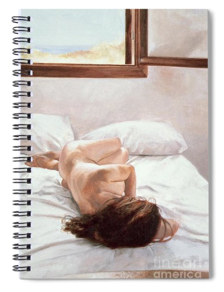 Sea Light On Your Body Spiral Notebook