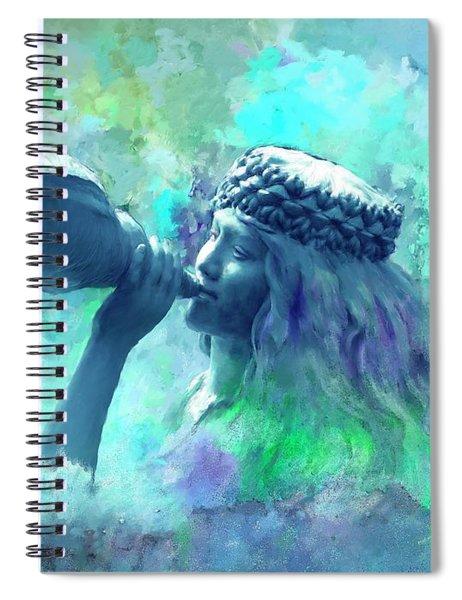 Sea Nymph Spiral Notebook