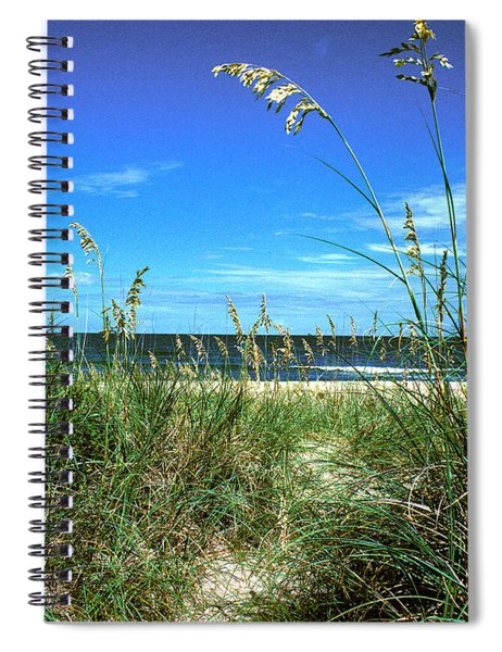Sea Oat Dunes 11d Spiral Notebook