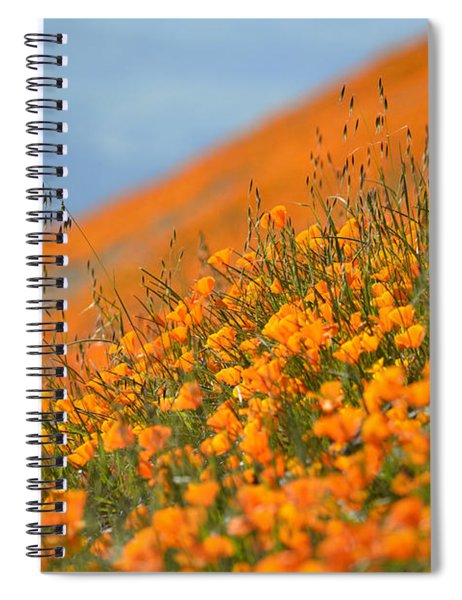 Sea Of Poppies Spiral Notebook