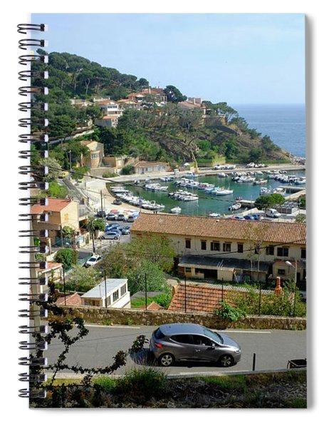 Sea Resort La Redonne Spiral Notebook