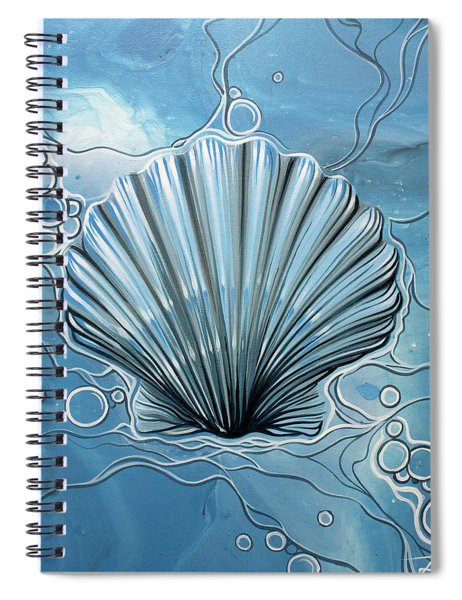 Sea Scalop Spiral Notebook