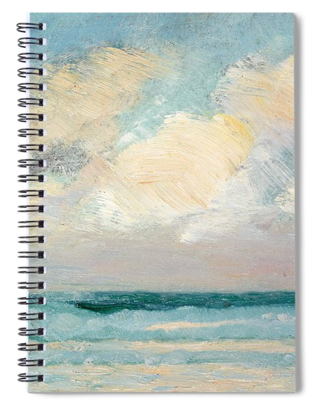 Sea Study - Morning Spiral Notebook