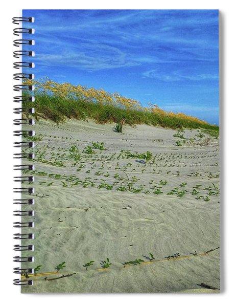 Sea Swept Spiral Notebook