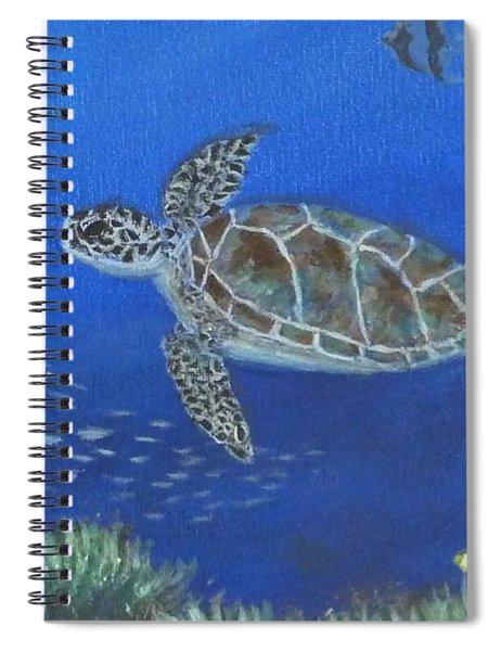 Sea Turtle 2 Spiral Notebook