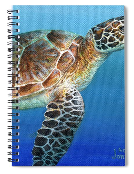 Sea Turtle 2 Of 3 Spiral Notebook