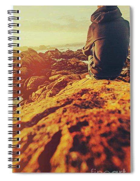 Sea Vacation Wonders Spiral Notebook