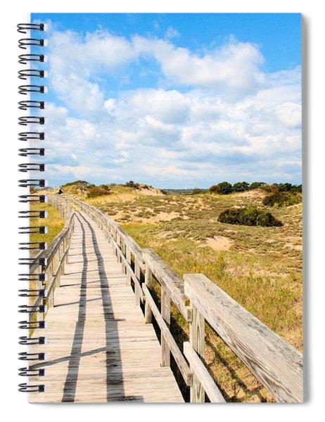 Seabound Boardwalk Spiral Notebook