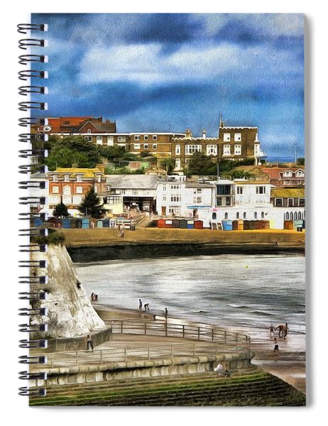 Seafront Broadstairs Kent Spiral Notebook