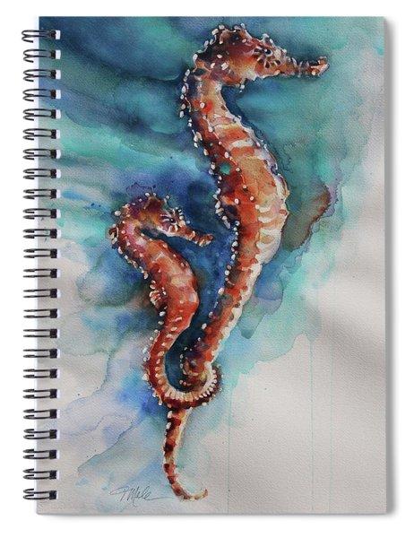 Seahorse 1 Spiral Notebook