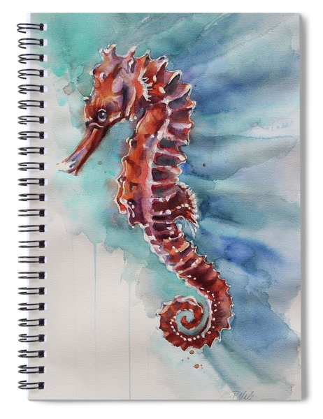 Seahorse 2 Spiral Notebook
