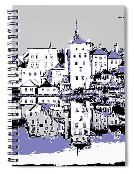 Seaport Mirror Spiral Notebook