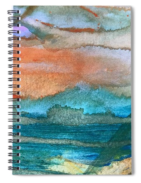 Seascape I Spiral Notebook