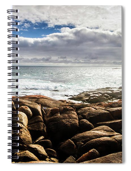 Seascape In Harmony Spiral Notebook