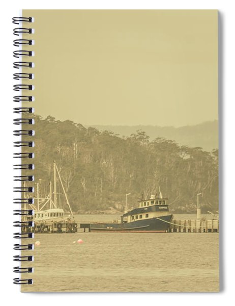 Seascapes Of Old Spiral Notebook