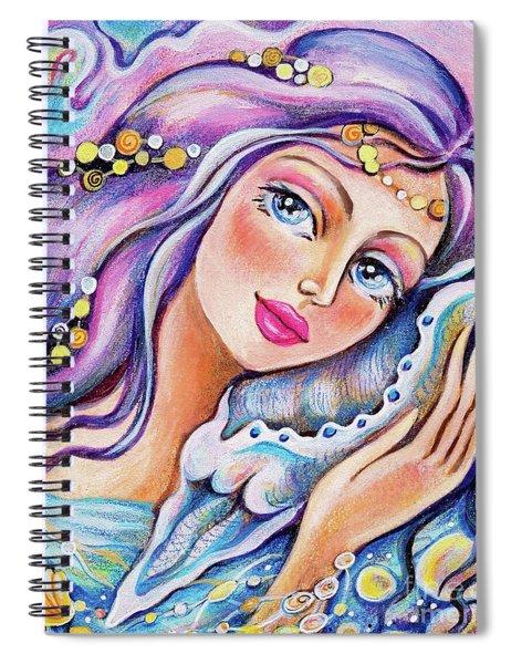 Seashell Reverie Spiral Notebook
