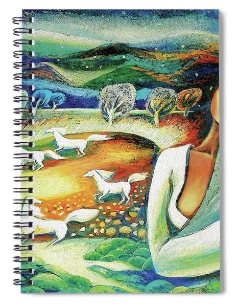 Seashell Sound Spiral Notebook