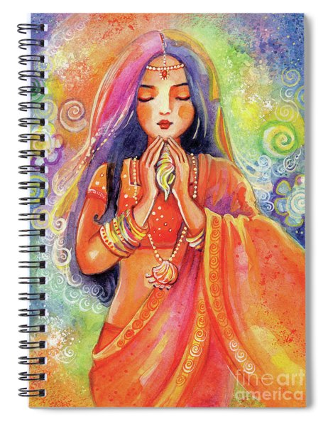 Seashell Wish Spiral Notebook
