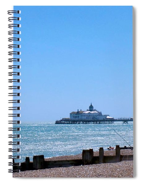 Seaside And Pier Spiral Notebook