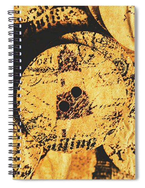 Seaside Attachment Spiral Notebook