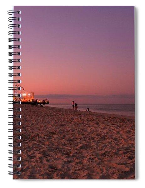 Seaside Park I - Jersey Shore Spiral Notebook