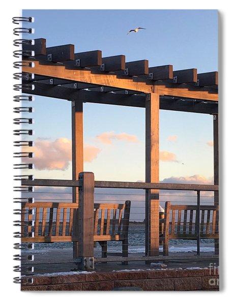 Seaside Seating  Spiral Notebook