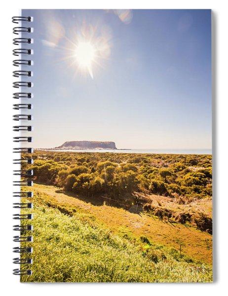 Seaside Stanley Scene Spiral Notebook