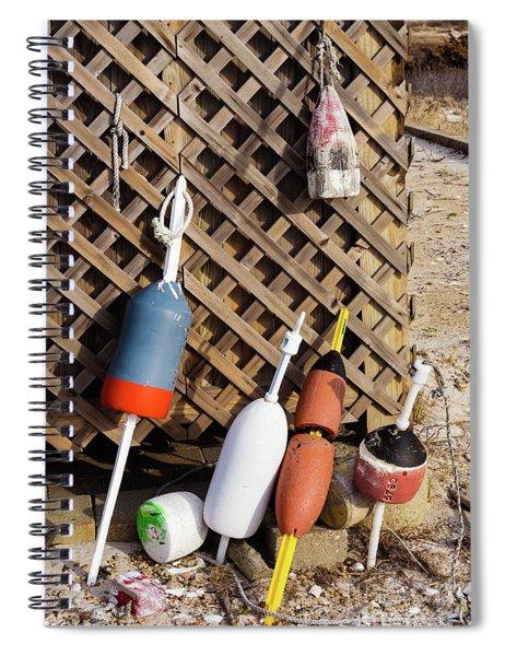 Seaside Still Life Spiral Notebook