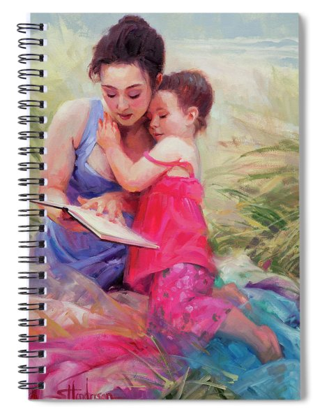 Seaside Story Spiral Notebook