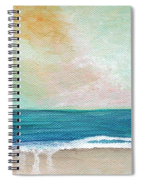Seaside Sunset- Expressionist Landscape Spiral Notebook