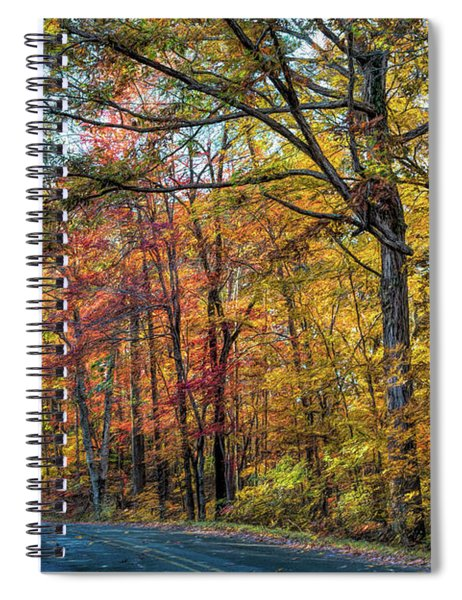 Seasonal Beauty Spiral Notebook