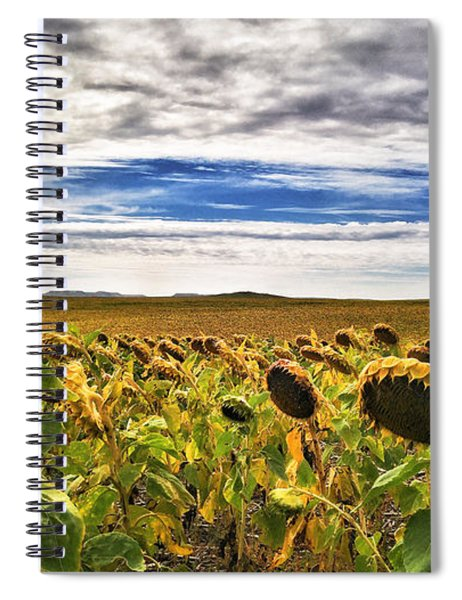 Seasons In The Sun Spiral Notebook