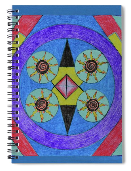 Seasons Of The Sun Spiral Notebook