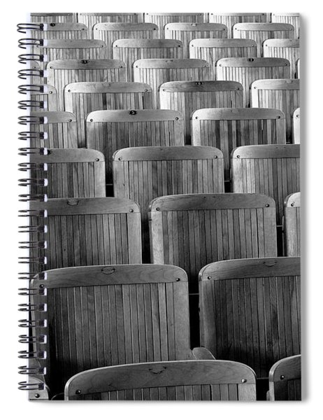 Seat Backs Spiral Notebook