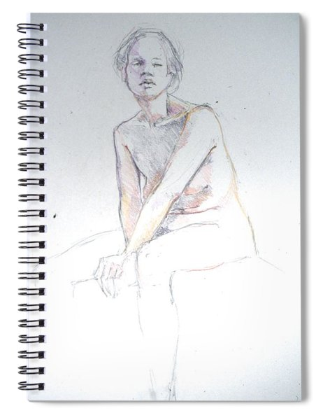 Seated Study 2 Spiral Notebook