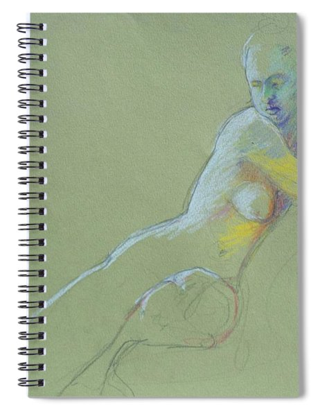 Seated Study Spiral Notebook