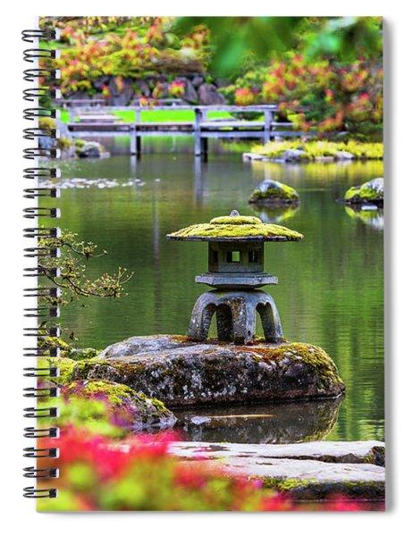 Seattle Japanese Garden Spiral Notebook