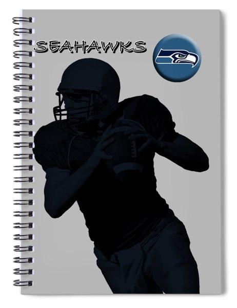 Seattle Seahawks Football Spiral Notebook