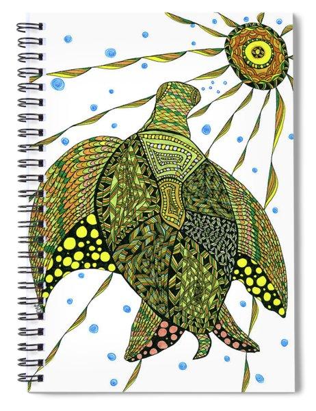 Seaturtle  Spiral Notebook