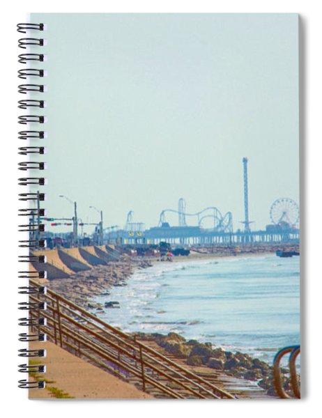 Seawall Blvd Spiral Notebook
