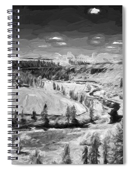 Secluded Valley II Spiral Notebook