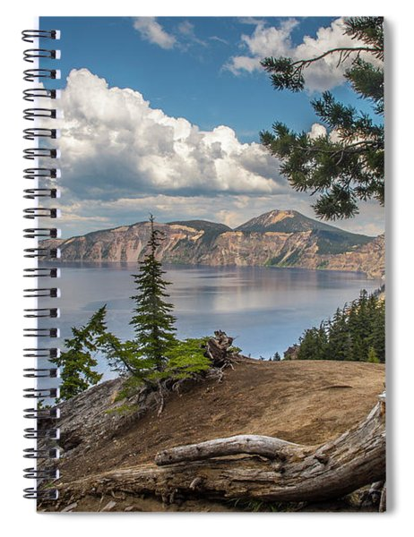 Second Crater View Spiral Notebook
