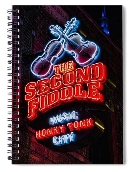 Second Fiddle Spiral Notebook